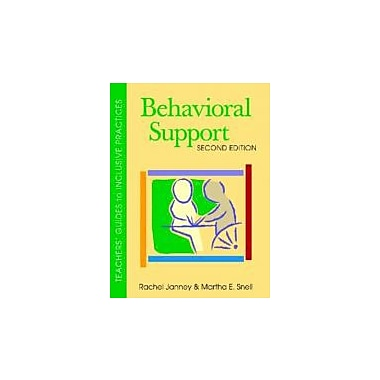 Behavioral Support, Second Edition (Teachers' Guides), Used Book (9781557669117)