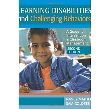 Learning Disabilites & Challenging Behaviors: A Guide to Intervention & Classroom Management, 2nd Ed., New Book