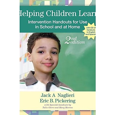 Helping Children Learn: Intervention Handouts for Use in School and at Home, Second Edition Used Book (9781557669988)