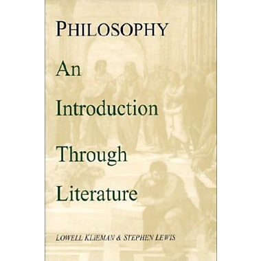 Philosophy: An Introduction Through Literature, New Book (9781557785398)