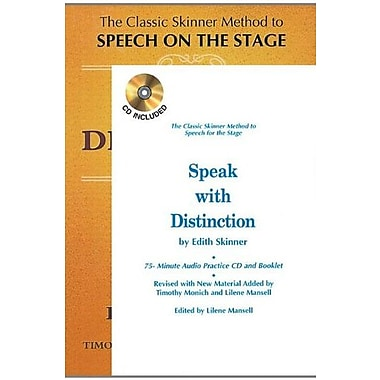 Speak With Distinction, Used Book (9781557830531)