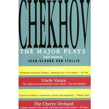 Chekhov: The Major Plays, New Book (9781557831620)