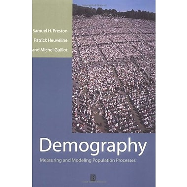 Demography: Measuring and Modeling Population Processes, New Book (9781557864512)