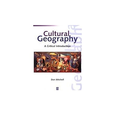 Cultural Geography: A Critical Introduction, New Book (9781557868923)