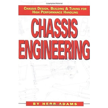 Chassis Engineering: Chassis Design, Building & Tuning for High Performance Handling, New Book (9781557880550)