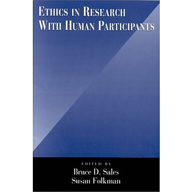 Ethics in Research with Human Participants, Used Book (9781557986887)