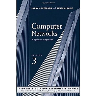Computer Networks, Third Edition: A Systems Approach 3rd Edition, Used Book, (9781558608320)