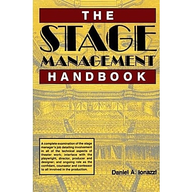 The Stage Management Handbook, Used Book (9781558702356)