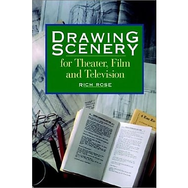 Drawing Scenery for Theater, Film and Television, New Book (9781558706842)