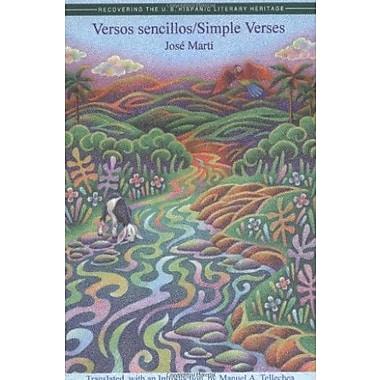 Versos Sencillos: Simple Verses, Used Book, (9781558852044)