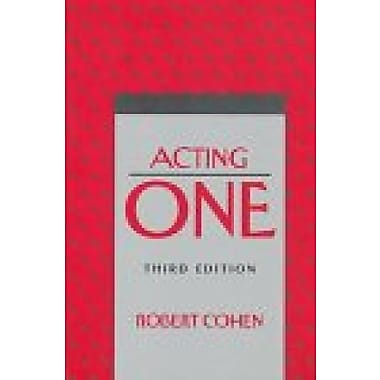 Acting One, New Book (9781559349406)