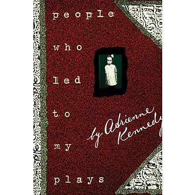 People Who Led to My Plays, New Book (9781559361255)