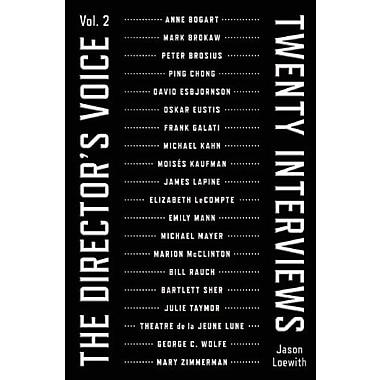 The Director's Voice, Twenty Interviews, Vol. 2, New Book (9781559363525)