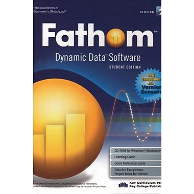 Fathom Dynamic Data Software: Version 2 [Student Edition], Used Book (9781559536844)