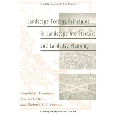 Landscape Ecology Principles in Landscape Architecture and Land-Use Planning, New Book (9781559635141)