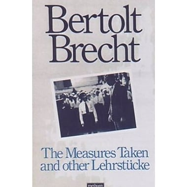 Measures Taken and Other Lehrstucke (Arcade Brecht), New Book (9781559705448)