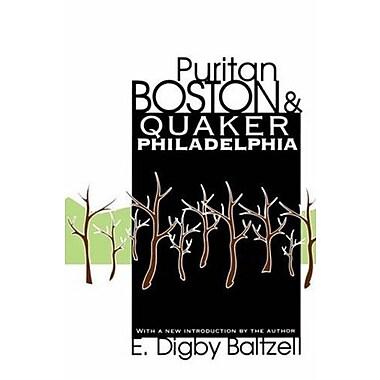 Puritan Boston and Quaker Philadelphia, New Book (9781560008309)