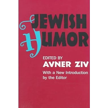 Jewish Humor (Classics in Communication and Mass Culture Series), New Book (9781560009917)