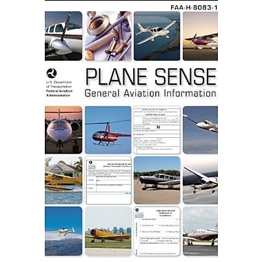 Plane Sense: General Aviation Information: FAA-H-8083-19A, Used Book (9781560277620)