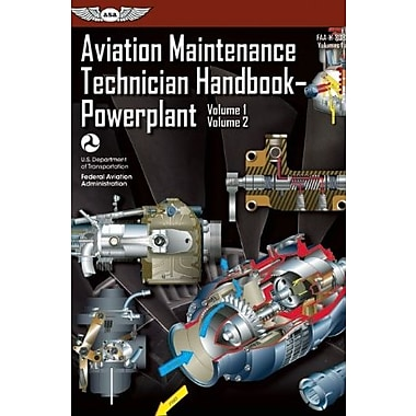 Aviation Maintenance Technician Handbook Powerplant: FAA-H-8083-32 Volume 1 / Volume 2 (9781560279549)