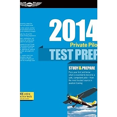 Private Pilot Test Prep 2014: Study & Prepare for Recreational and Private