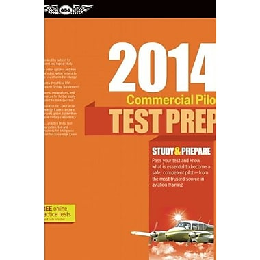 Commercial Pilot Test Prep 2014, Used Book