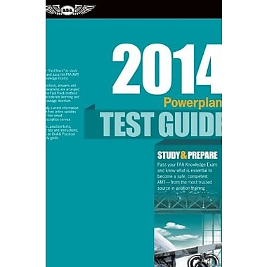 Powerplant Test Guide 2014, Used Book (9781560279921)