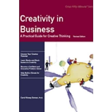 Crisp: Creativity in Business, Revised Edition: A Practical Guide for Creative Thinking, New Book (9781560525332)