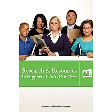 Research & Resources In Support of This We Believe, New Book (9781560902348)