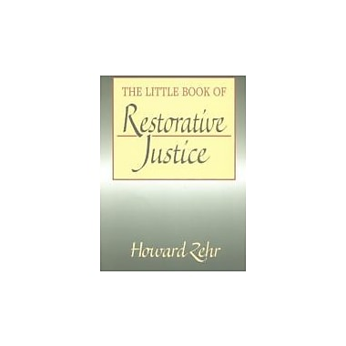 The Little Book of Restorative Justice (The Little Books of Justice & Peacebuilding), New Book (9781561483761)