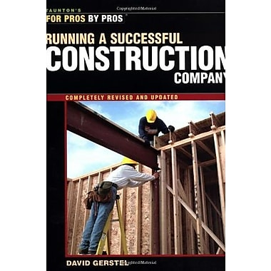Running a Successful Construction Companyby Pros), Used Book (9781561585304)