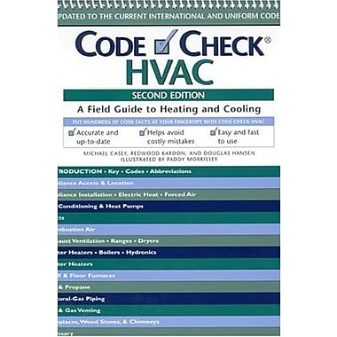 Code Check HVAC: An Illustrated Guide to Heating and Cooling, Used Book (9781561587377)