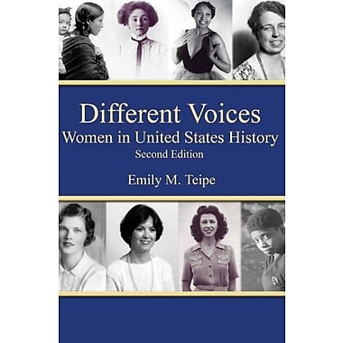 Different Voices Women in United States History, Second Edition, Used Book (9781562266509)