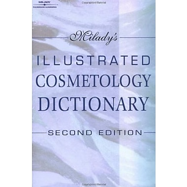 Milady's Illustrated Cosmetology Dictionary, New Book (9781562536671)