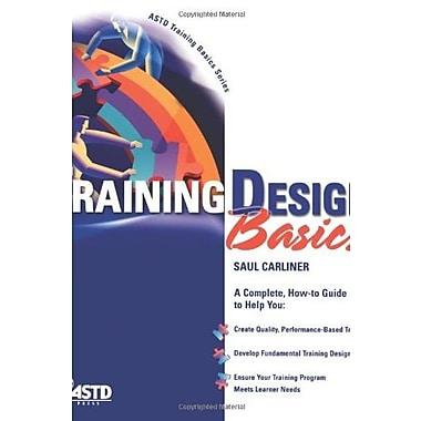 Training Design Basics Used Book (9781562863487)