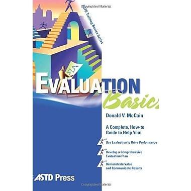 Evaluation Basics Used Book (9781562863739)