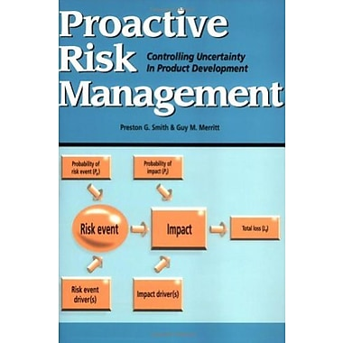 Proactive Risk Management: Controlling Uncertainty in Product Development, New Book (9781563272653)