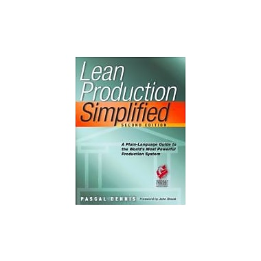 Lean Production Simplified Used Book (9781563273568)