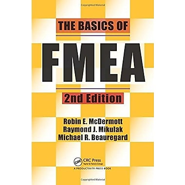 The Basics of FMEA, 2nd Edition Used Book (9781563273773)