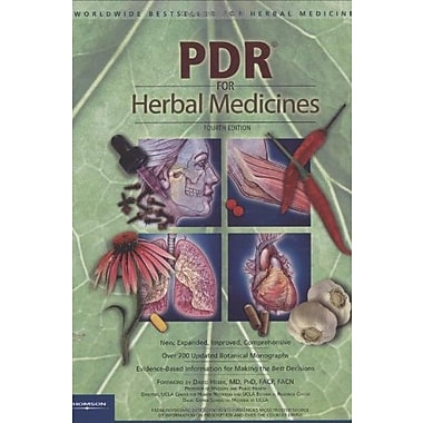 PDR for Herbal Medicines, 4th Edition, New Book (9781563636783)