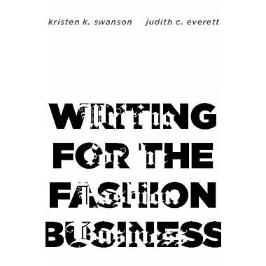 Writing for the Fashion Business, Used Book (9781563674396)