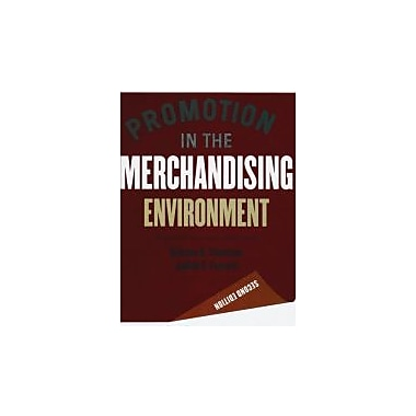 Promotion in the Merchandising Environment 2nd edition, Used Book (9781563675515)
