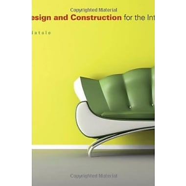 Furniture Design and Construction for the Interior Designer, Used Book (9781563675652)