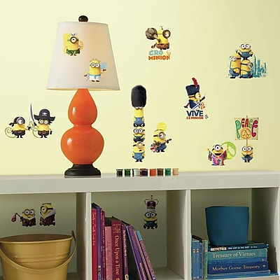 Room Mates Popular Characters Minions The Movie Wall Decal WYF078277933140