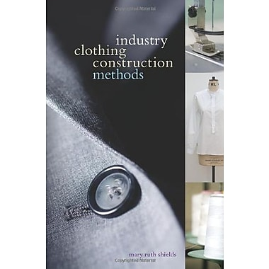 Industry Clothing Construction Methods, Used Book (9781563677267)