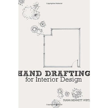 Hand Drafting for Interior Design, New Book (9781563677373)