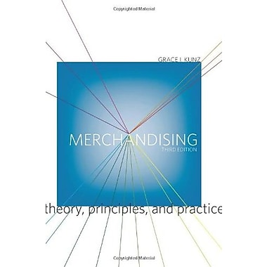 Merchandising: Theory, Principles and Practice 3rd Edition, Used Book (9781563678264)