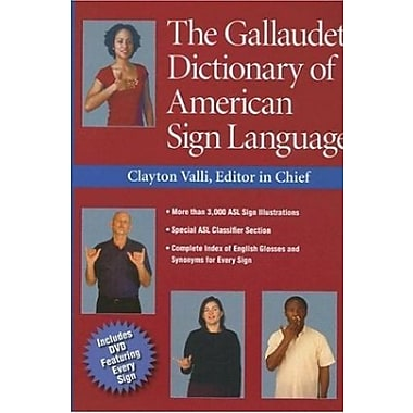 The Gallaudet Dictionary of American Sign Language Used Book (9781563682827)