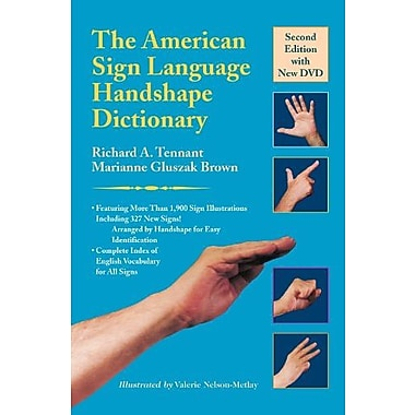 The American Sign Language Handshape Dictionary, New Book (9781563684449)
