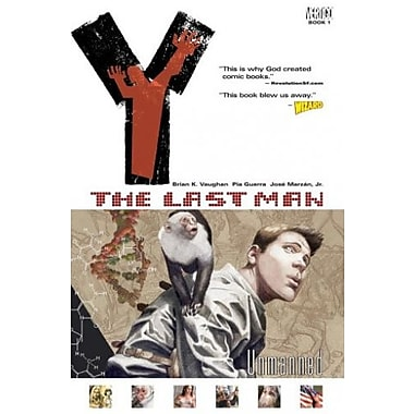 Y: The Last Man, Vol. 1: Unmanned, New Book (9781563899805)